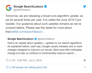 Google's Core Update