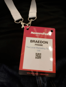The Local Marketing Team's Measurefest Pass Badge