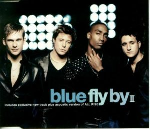Blue Fly By CD Single Cover